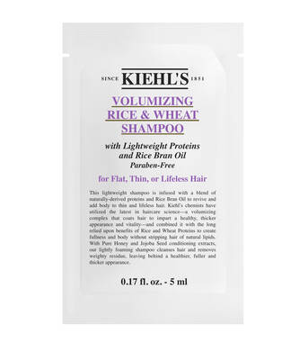 Rice and Wheat Volumizing Shampoo Sample
